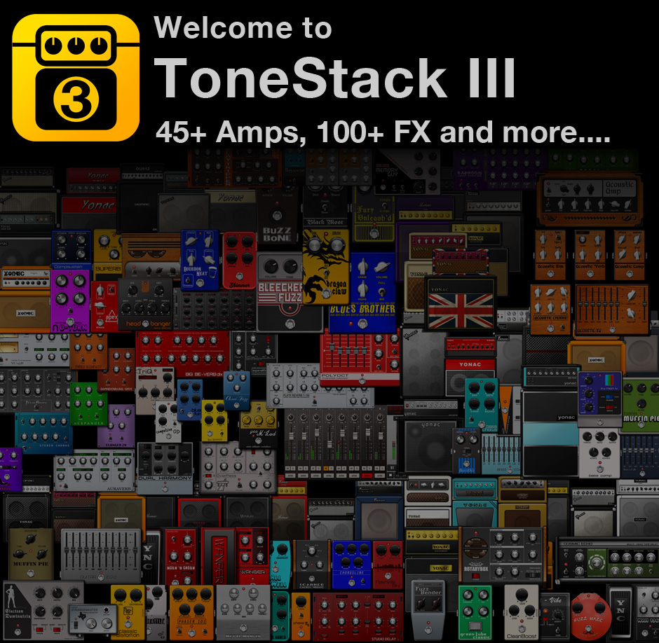 ToneStack 3.0 for iPhone and iPad