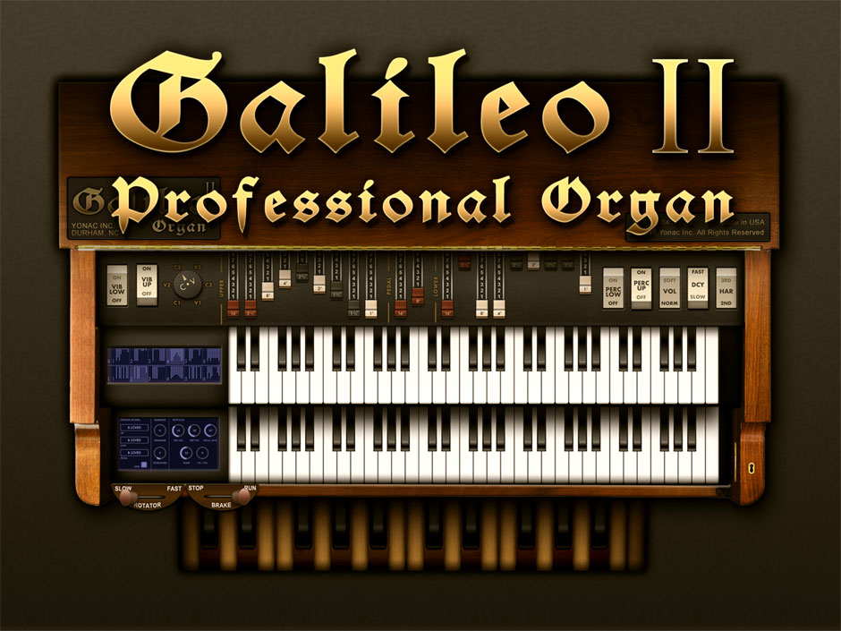 Yonac Galileo 2 Organ