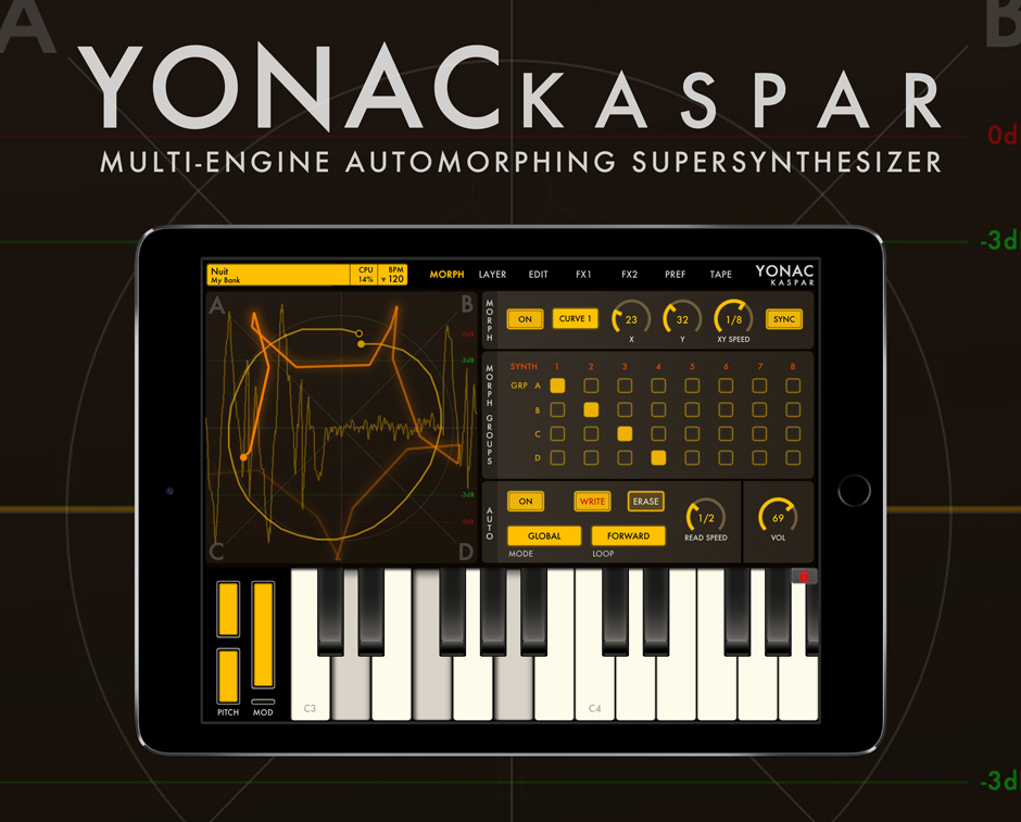 Yonac KASPAR SuperSynthesizer