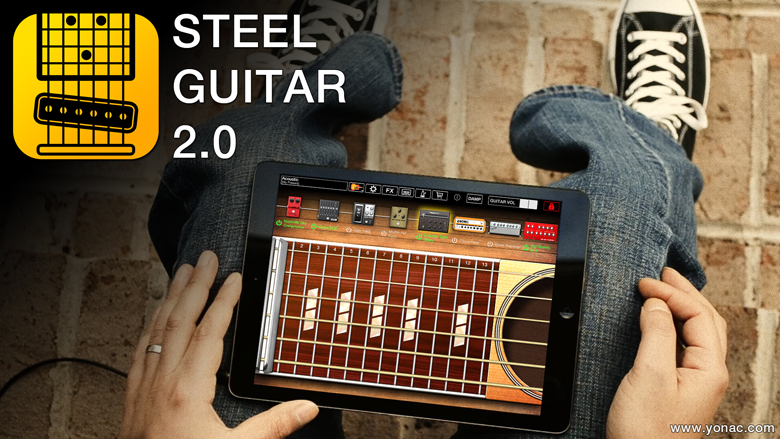 Yonac Software :: Steel Guitar for iPad and iPhone